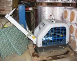Deska vibrační 504 kg (obousměrná) TREMIX MV 480